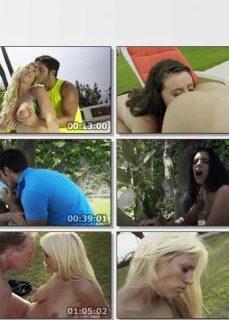 Lüks Villa Bahçesinde Grup Seks Yapıyorlar tek part izle